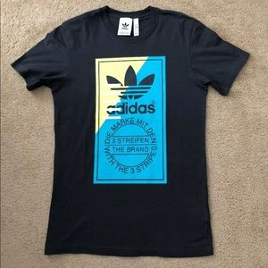 Adidas charcoal gray T-shirt size S